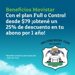 Movistar - Beneficio exclusivo para socios de Urú Curé